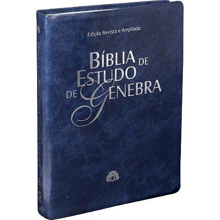 Bíblia de Estudo Genebra - Bíblia Revista e Atualizada