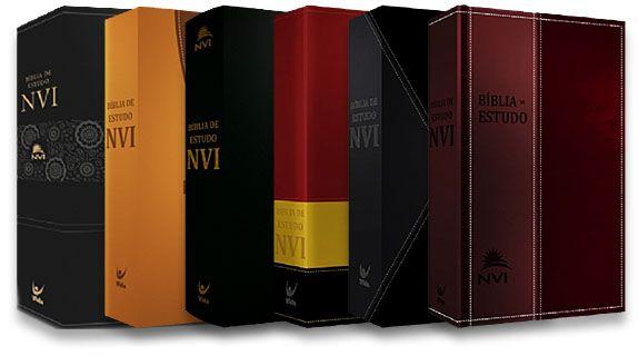 Bíblia de Estudo NVI Capa Luxo