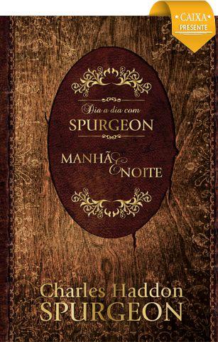 livro devocional Caixa Dia a Dia com Spurgeon Manhã e Noite