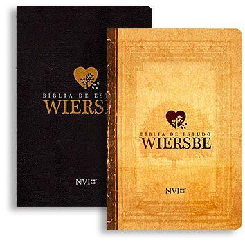 Bíblia de Estudo Wiersbe | Bíblia NVI