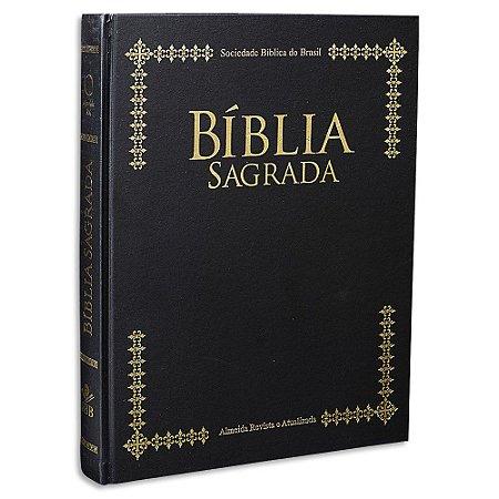 Bíblia Letra Extra Gigante Púlpito