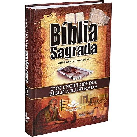 Bíblia Sagrada Almeida Revista e Atualizada com Enciclopédia