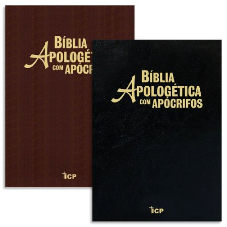 Bíblia Apologética com Apócrifos