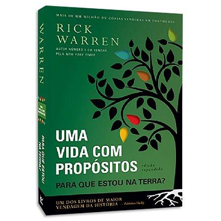 Uma Vida com Propósitos Rick Warren 3ª Edição