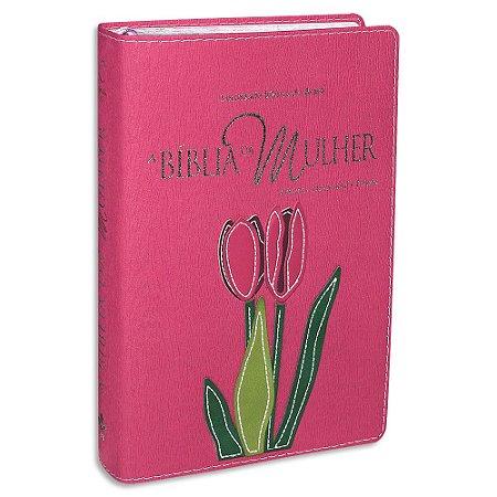 A Bíblia da Mulher RA Média Pink