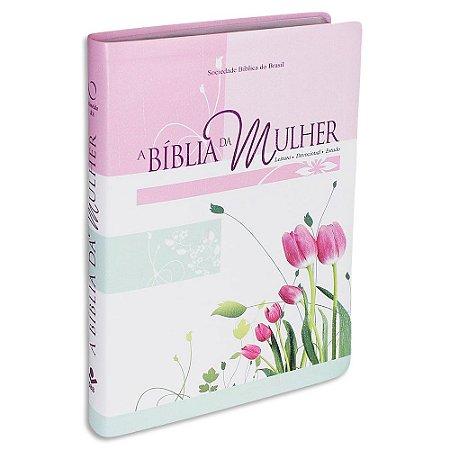 A Bíblia da Mulher RA Grande Rosa