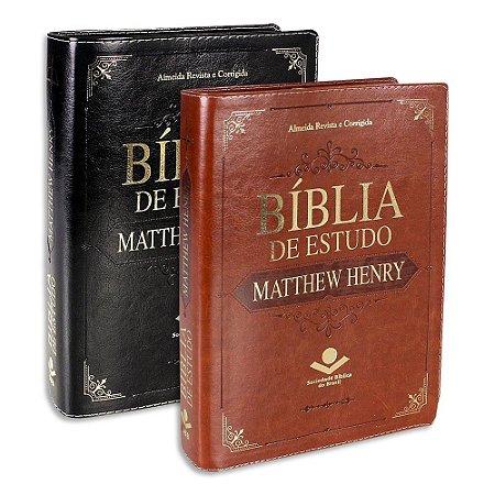 Bíblia de Estudo Matthew Henry | Almeida Revista e Corrigida