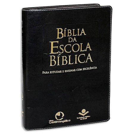 Bíblia da Escola Bíblica versão RA Capa Preta