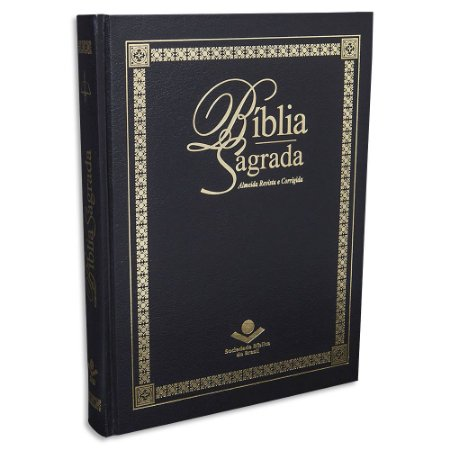 Bíblia RC Letra Extragigante Púlpito capa preta