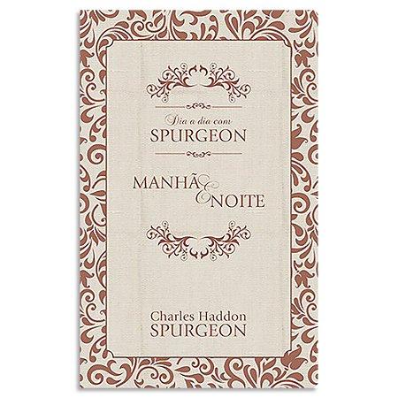 Dia a Dia com Spurgeon Edição Especial capa de Linho