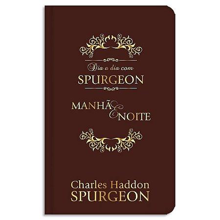 Dia a Dia com Spurgeon Edição Luxo capa de couro