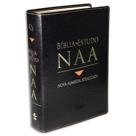 Bíblia de Estudo NAA capa Preta