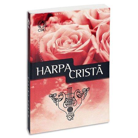 Harpa Cristã Hinos capa Rosas Grande