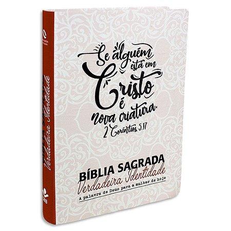 Bíblia Feminina Verdadeira Identidade capa Rosa Impressa
