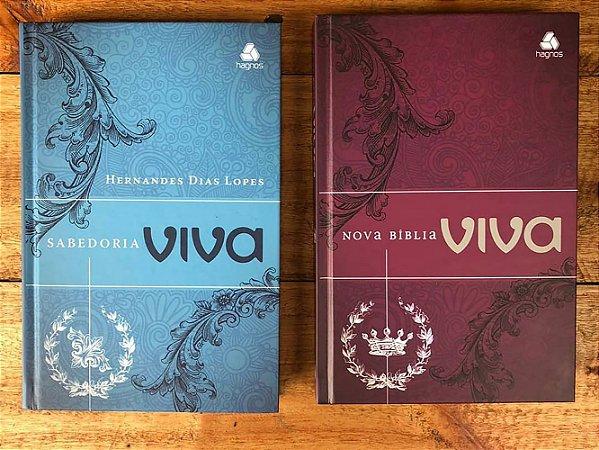 Bíblia Viva e Devocional Hernandes Dias Lopes