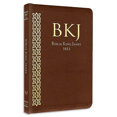 Bíblia King James Atualizada Slim Marrom