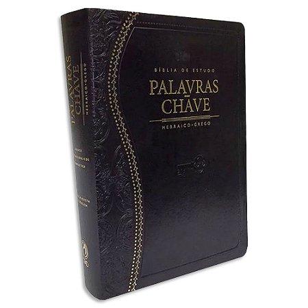 Bíblia de Estudo Palavras-Chave Preta (CLÁSSICA)