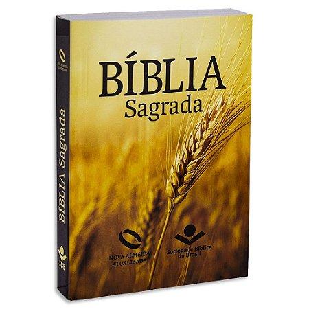 Bíblia Sagrada Nova Almeida Atualizada capa Trigo