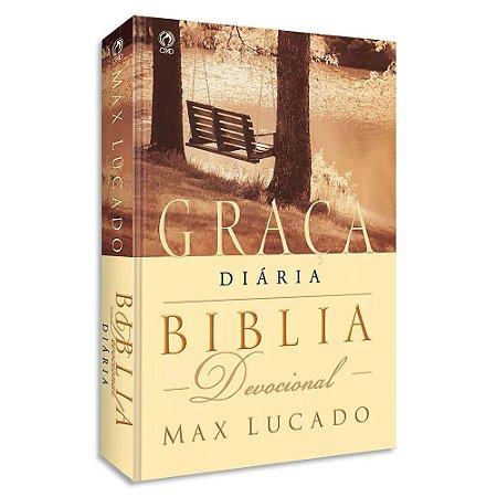 Bíblia Devocional Graça Diária RC de Max Lucado