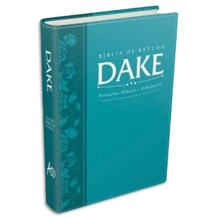 Bíblia Dake capa Turquesa