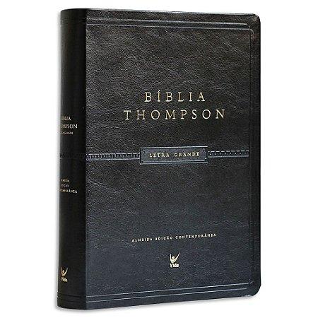 Bíblia Thompson Letras Grandes Preta