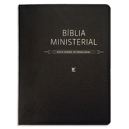 Bíblia Ministerial NVI capa Preta
