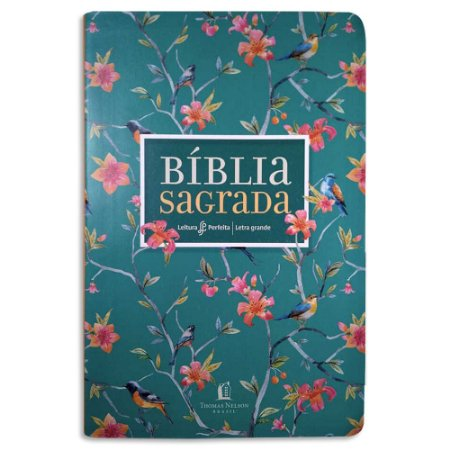 Bíblia NVI Leitura Perfeita capa Primavera com Letra Grande