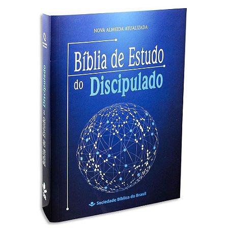 Bíblia de Estudo do Discipulado capa brochura