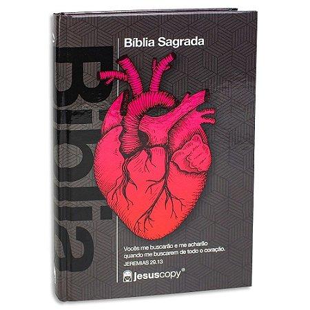 Bíblia Nova Almeida Atualizada Coração Preta