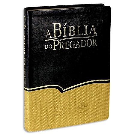 Bíblia do Pregador Almeida Revista e Atualizada Bicolor Luxo