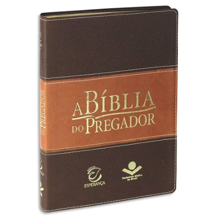Bíblia do Pregador Almeida Revista e Atualizada Marrom