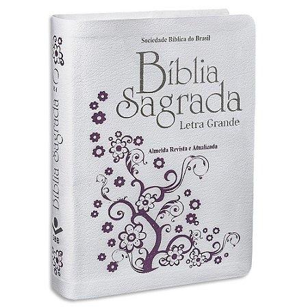 Bíblia Sagrada Letra Grande RA Branca
