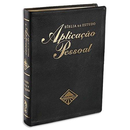 Bíblia de Estudo Aplicação Pessoal Grande Preta