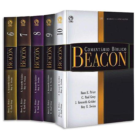 Comentário Bíblico Beacon Antigo Testamento Capa Dura