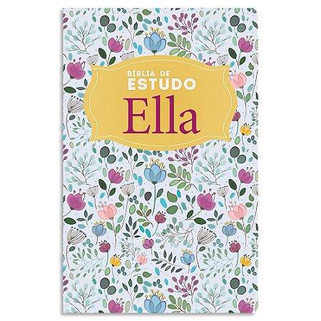 Bíblia Ella de Estudo NVI Floral
