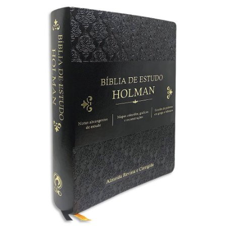 Bíblia de Estudo Holman RC Preta