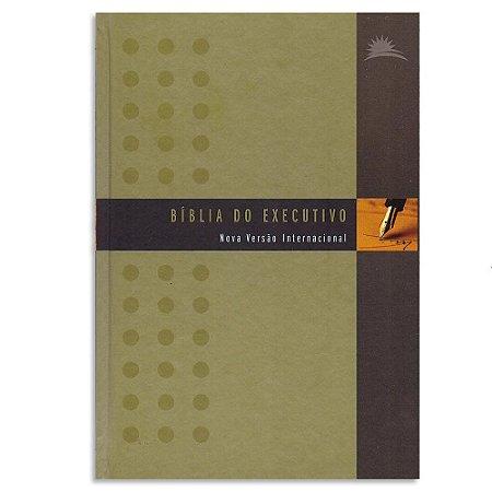 Bíblia NVI do Executivo capa dura