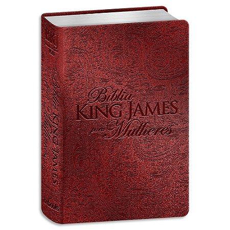 Bíblia King James para Mulheres Vermelha