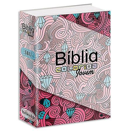 Bíblia Colorida Jovem Feminina