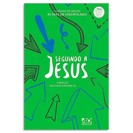 Seguindo a Jesus - Capa Verde