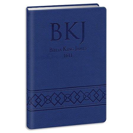 Bíblia King James 1611 Ultrafina Gigante Azul