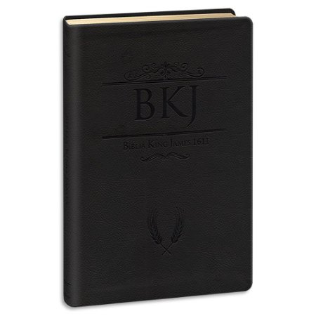 Bíblia King James 1611 Ultrafina Gigante Preta