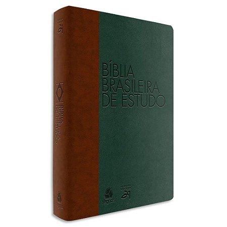 Bíblia Brasileira de Estudo Verde e Marrom
