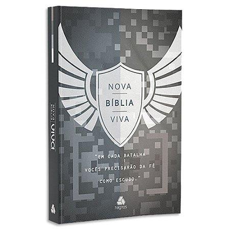 Nova Bíblia Viva Letra Grande capa dura Escudo