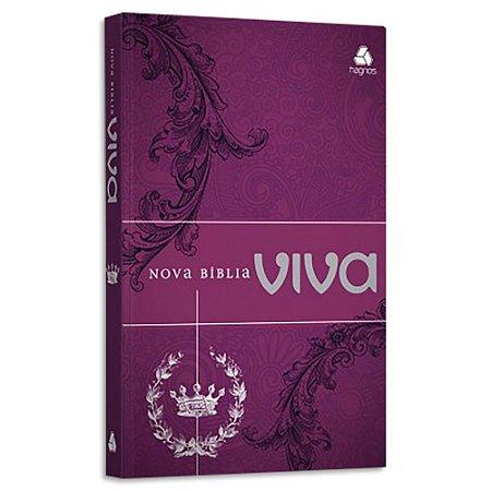Nova Bíblia Viva Edição Especial Vinho