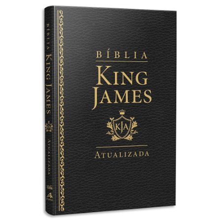 Bíblia King James Atualizada Slim Preta