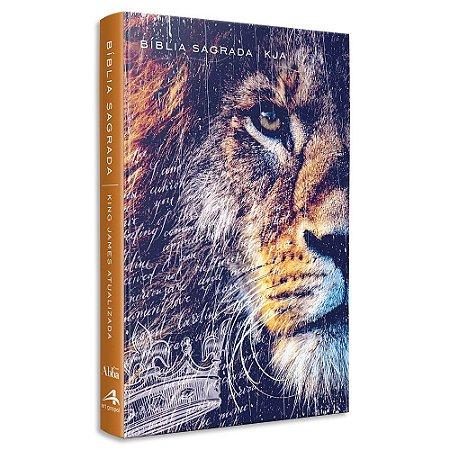 Bíblia King James Atualizada Slim Leão