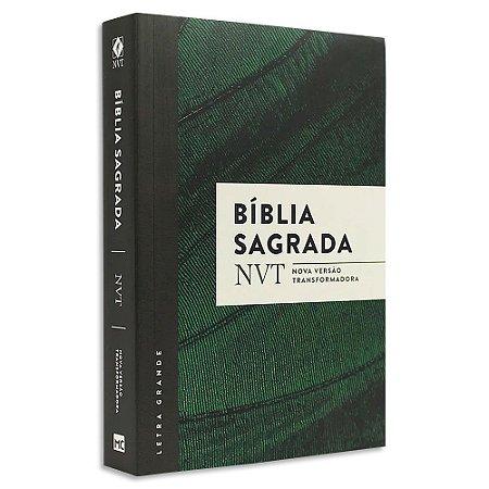 Bíblia NVT Letra Grande Verde