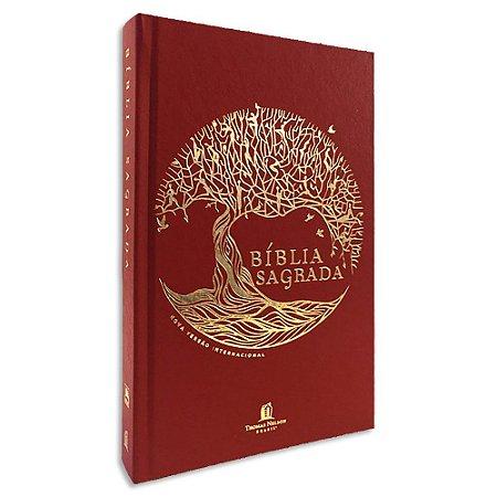 Bíblia Sagrada NVI Leitura Perfeita Árvore da Vida Dourada