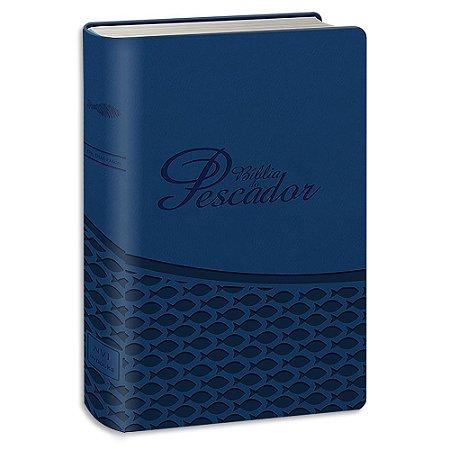 Bíblia do Pescador versão NVI Azul